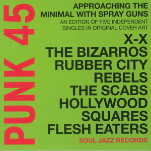 Punk 45: Approaching the Minimal with Spray Guns